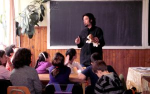 la clasa